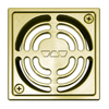 Schluter Systems Gold Anodized Aluminum Grate