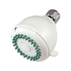 Elements of Design Barcelona 3-in 2.5-GPM (9.5-LPM) White 3-Spray Showerhead