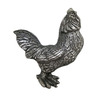 Anne at Home 3-in Center-to-Center Pewter Animals Cabinet Pull