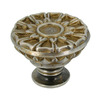 Anne at Home Corinthia Pewter with Bronze Wash Round Cabinet Knob
