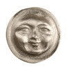 Anne at Home Celestial and Cherubs Pewter Matte Round Cabinet Knob