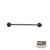 Anne at Home Oak Pewter with Bronze Wash 18-in Towel Bar
