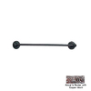 Anne at Home Oak Pewter with Copper Wash 18-in Towel Bar