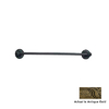 Anne at Home Oak Antique Gold 18-in Towel Bar