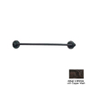 Anne at Home Oak Bronze with Copper Wash 24-in Towel Bar