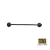 Anne at Home Oak Gold 24-in Towel Bar