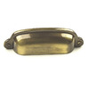 Century Hardware 3-in Center-To-Center Polished Antique Yukon Cup Cabinet Pull