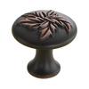 Century Hardware Aspen Regent Bronze Round Cabinet Knob