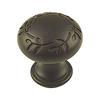 Century Hardware Hamilton Oil-Rubbed Bronze Mushroom Cabinet Knob