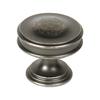 Century Hardware Belvedere Regent Silver Round Cabinet Knob