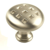 Century Hardware 1-3/8-in Nickel Majestic Mushroom Cabinet Knob