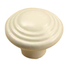 Century Hardware Alps Matte Cream Mushroom Cabinet Knob
