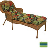 Blazing Needles 68-in L x 20-in W Haliwell Caribbean Patio Chaise Lounge Cushion