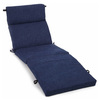 Blazing Needles Azul Solid Cushion For Chaise Lounge