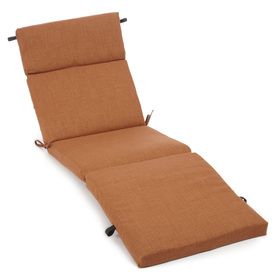 Blazing Needles 72-in L x 24-in W Mocha Chaise Cushion