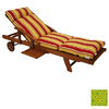 Blazing Needles 76-in L x 21-in W Titus Terrace Apple Chaise Cushion
