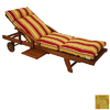 Blazing Needles 76-in L x 21-in W Barclay Terrace Honey Chaise Cushion