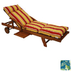 Blazing Needles 76-in L x 21-in W Skyworks Caribbean Chaise Cushion