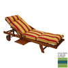 Blazing Needles 76-in L x 21-in W Haliwell Caribbean Chaise Cushion