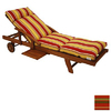 Blazing Needles 76-in L x 21-in W Monserrat Sangria Chaise Cushion