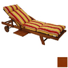 Blazing Needles 76-in L x 21-in W Cinnamon Chaise Cushion