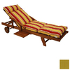 Blazing Needles 76-in L x 21-in W Sandstone Chaise Cushion