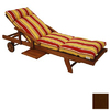 Blazing Needles 76-in L x 21-in W Cocoa Chaise Cushion