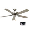 Volume International 52-in Marti Brushed Nickel Ceiling Fan ENERGY STAR