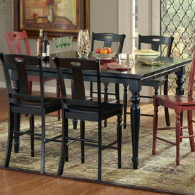 Steve Silver Company Barbados Chocolate Rectangular Dining Table