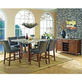 Steve Silver Company Montibello Cherry Square Dining Table
