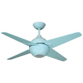 Shop yosemite home decor 42 in spectrum light blue ceiling fan with light kit and remote at Home decorations light kit