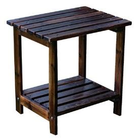 Shine Company 14-in W x 19.75-in L Rectangle Cedar End Table