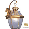 Livex Lighting Monterey 13-in Polished Brass Outdoor Wall Light