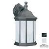 Thomas Lighting Hawthorne 14-in Matte Black Outdoor Wall Light ENERGY STAR