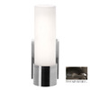 Access Lighting Aqueous 4.3-in W 1-Light Oil-Rubbed Bronze Arm Hardwired Wall Sconce
