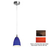 Access Lighting 4-in W Tungsten Bronze Mini Pendant Light