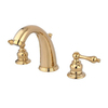Elements of Design Polished Brass 2-Handle Widespread Bathroom Sink Faucet (Drain Included)