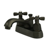 Elements of Design New York Oil-Rubbed Bronze 2-Handle 4-in Centerset Bathroom Sink Faucet