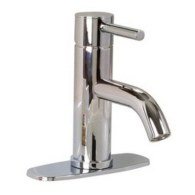 Premier Faucet Essen Chrome 1-Handle Single Hole WaterSense Bathroom Sink Faucet (Drain Included)