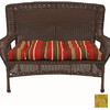 Blazing Needles 42-in L x 19-in W Barclay Terrace Honey Bench Cushion
