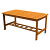 International Caravan Royal Tahiti Wood Rectangle Patio Coffee Table