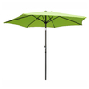 International Caravan 8-ft 3-in Light Green Market Umbrella