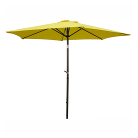 International Caravan Yellow Market Patio Umbrella