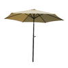 International Caravan 8-ft 3-in Beige Market Umbrella