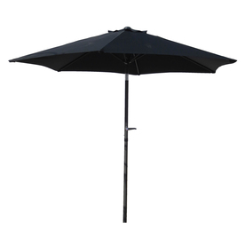 International Caravan Black Market Patio Umbrella