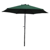 International Caravan Forest Green Market Patio Umbrella