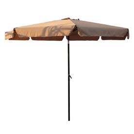International Caravan Khaki Market Patio Umbrella