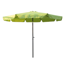 International Caravan 9-ft 10-in Light Green Market Umbrella