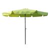 International Caravan Light Green Market Umbrella with Tilt-and-Crank (Common: 10-ft x 10-ft; Actual: 9.83-ft x 9.83-ft)
