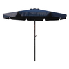 International Caravan Navy Market Patio Umbrella